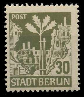 SBZ BERL. BRANDENB. Nr 7Aawaz postfrisch 8114E6