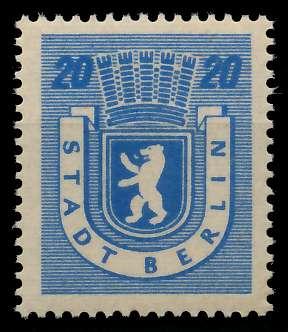 SBZ BERL. BRANDENB. Nr 6Awaz postfrisch 8114F6