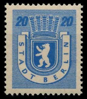 SBZ BERL. BRANDENB. Nr 6Awaz postfrisch 811502