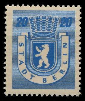 SBZ BERL. BRANDENB. Nr 6Awaz postfrisch 811506