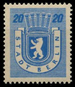 SBZ BERL. BRANDENB. Nr 6Awaz postfrisch 81150E