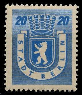 SBZ BERL. BRANDENB. Nr 6Awaz postfrisch 811512