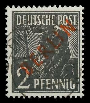 BERLIN 1949 Nr 21 zentrisch gestempelt 818CCA