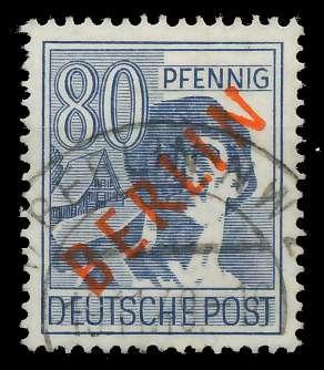 BERLIN 1949 Nr 32 gestempelt 818CD6