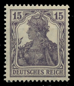 D-REICH GERMANIA Nr 101a postfrisch gepr. 819312