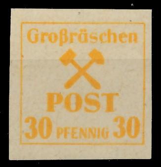LOKAL-AUSG 1945 GROSSRÄSCHEN Nr 40x postfrisch 81AE36