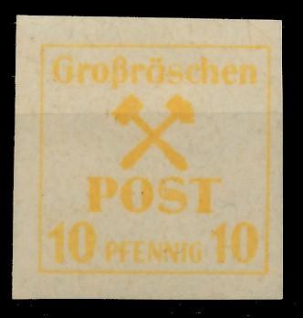 LOKAL-AUSG 1945 GROSSRÄSCHEN Nr 36x postfrisch 81AE42