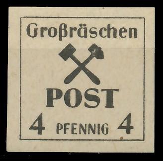 LOKAL-AUSG 1945 GROSSRÄSCHEN Nr 32x postfrisch 81AE46