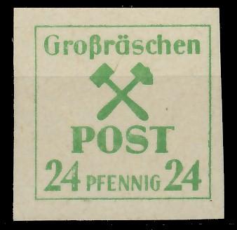 LOKAL-AUSG 1945 GROSSRÄSCHEN Nr 39x postfrisch 81AE4A