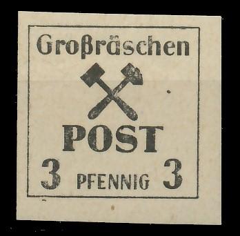 LOKAL-AUSG 1945 GROSSRÄSCHEN Nr 31x postfrisch 81AE4E