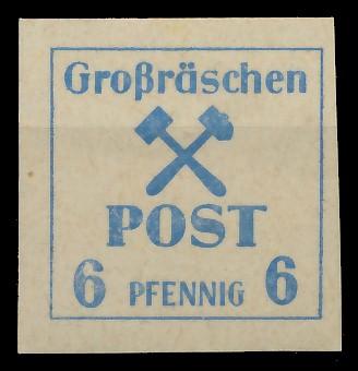 LOKAL-AUSG 1945 GROSSRÄSCHEN Nr 34x postfrisch 81AE52