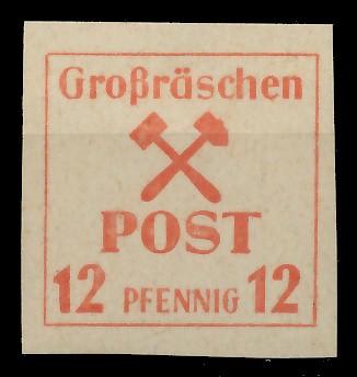 LOKAL-AUSG 1945 GROSSRÄSCHEN Nr 37x postfrisch 81AE56
