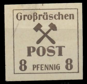 LOKAL-AUSG 1945 GROSSRÄSCHEN Nr 35x postfrisch 81AE5E