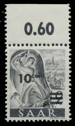 SAARLAND 1947 Nr 226ZII postfrisch ORA 81B03A