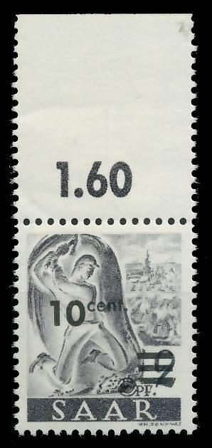 SAARLAND 1947 Nr 226ZII postfrisch ORA 81B042