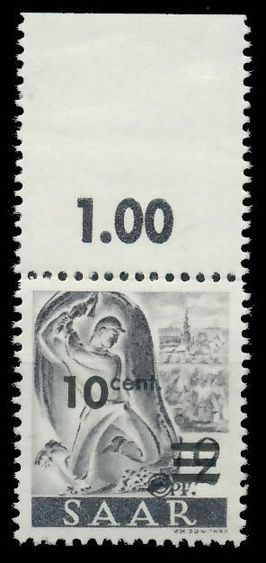 SAARLAND 1947 Nr 226ZII postfrisch ORA 81B052