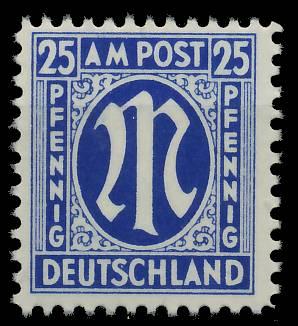 BIZONE AM-POST Nr 28Cz postfrisch 81E552