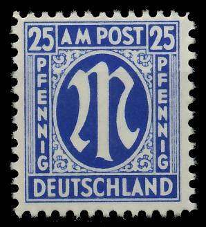 BIZONE AM-POST Nr 28Cz postfrisch 81E562