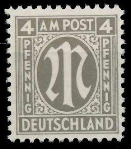 BIZONE AM-POST Nr 2x postfrisch 82233E