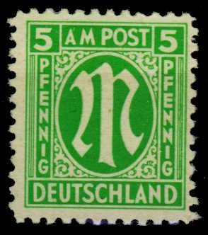 BIZONE AM-POST Nr 3y postfrisch S698CDE