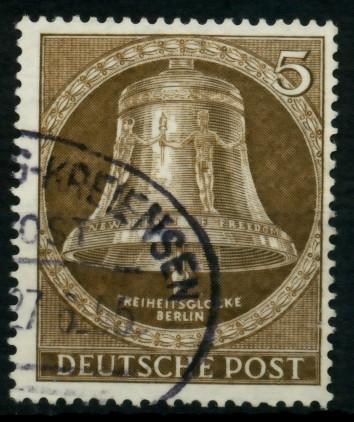 BERLIN 1953 Nr 101 gestempelt 6E10FE