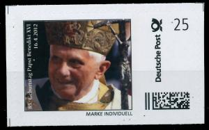 BRD PRIVATPOST Nr Papst Benedikt postfrisch S6A1CEE