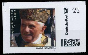 BRD PRIVATPOST Nr Papst Benedikt postfrisch S6A1CFE