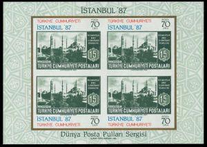TÜRKEI Block 25 postfrisch 82654A