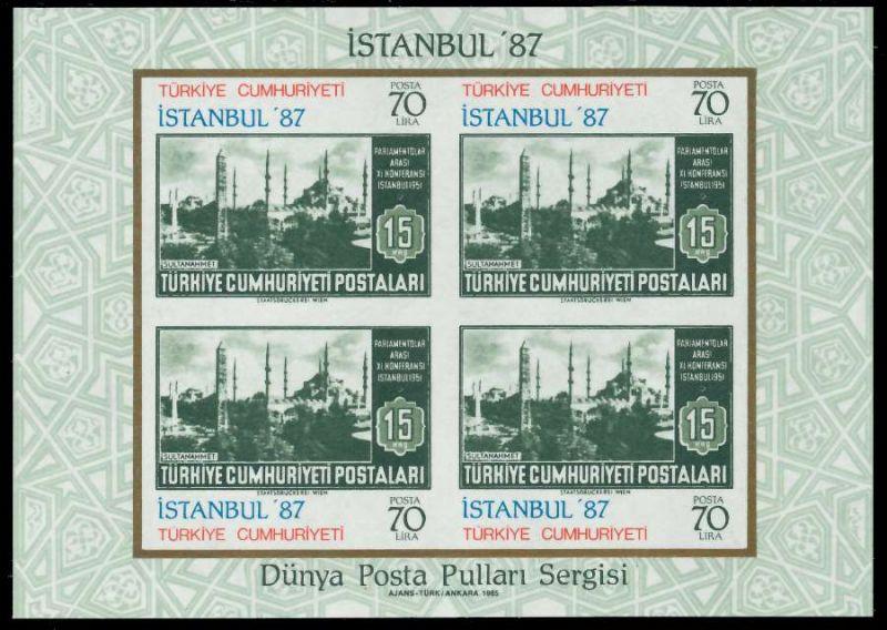 TÜRKEI Block 24 postfrisch S019D26