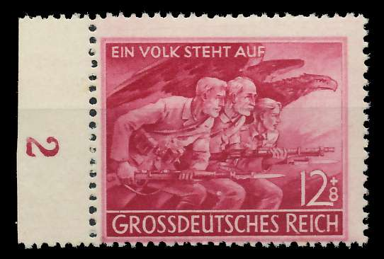 D-REICH 1945 Nr 908IX postfrisch ungebraucht 8267E2
