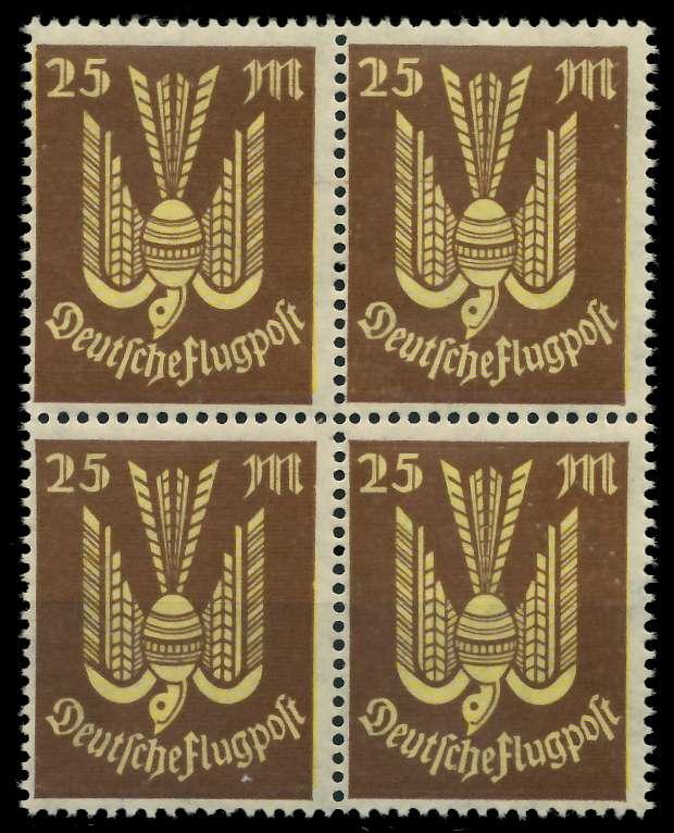 D-REICH INFLA Nr 236 postfrisch VIERERBLOCK 826942