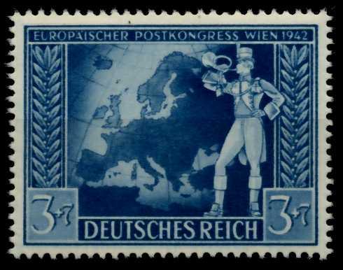 DEUTSCHES REICH 1942 Nr 820III postfrisch 70857E