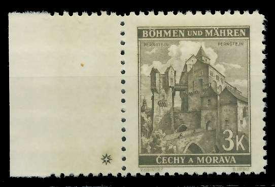 BÖHMEN MÄHREN 1941 Nr 72aPlSt1L postfrisch 82866E