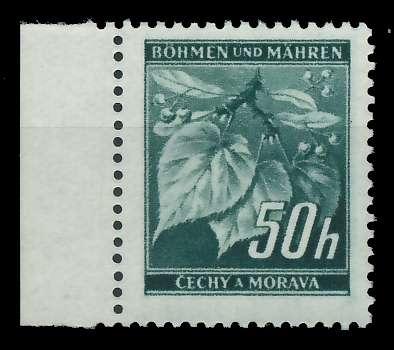 BÖHMEN MÄHREN 1939-1940 Nr 55 postfrisch SRA 8288A6