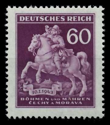 BÖHMEN MÄHREN 1943 Nr 113III postfrisch 82ABF2