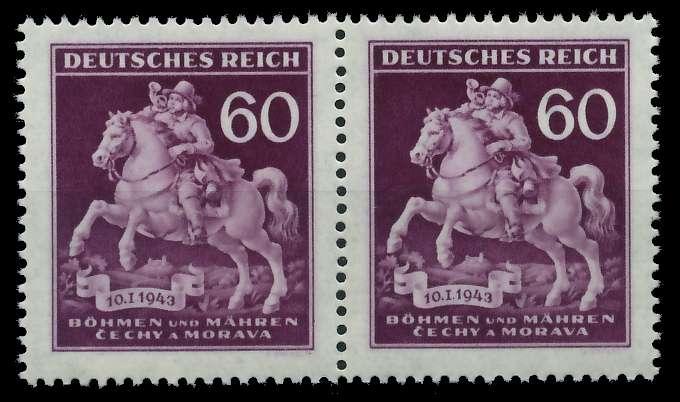BÖHMEN MÄHREN 1943 Nr 113III + 113 postfrisch S6B4A66