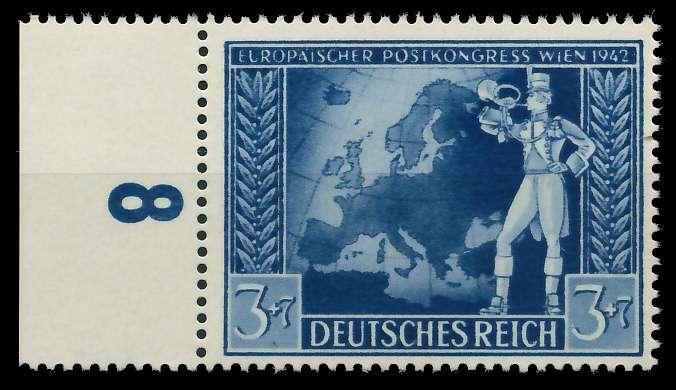 DEUTSCHES REICH 1942 Nr 820 postfrisch URA 82ACB6