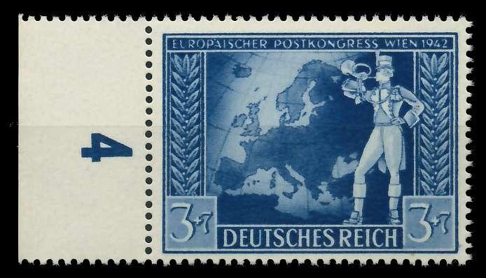 DEUTSCHES REICH 1942 Nr 820 postfrisch URA 82ACBA