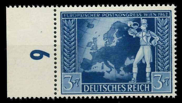 DEUTSCHES REICH 1942 Nr 820 postfrisch URA 82ACBE