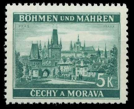 BÖHMEN MÄHREN 1939-1940 Nr 35 postfrisch 82ACC2
