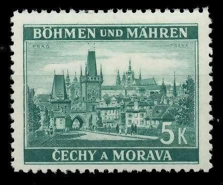 BÖHMEN MÄHREN 1939-1940 Nr 35 postfrisch 82ACCA