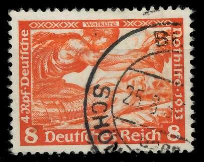 DEUTSCHES REICH 1933 Nr 503A gestempelt 82ACDE