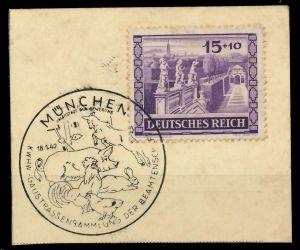 DEUTSCHES REICH 1941 Nr 805 Briefst³ck 82AD52