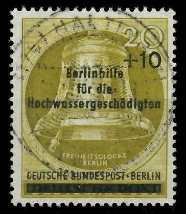 BERLIN 1956 Nr 155 zentrisch gestempelt 82F072