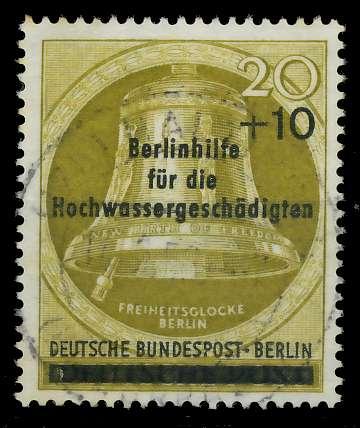 BERLIN 1956 Nr 155II gestempelt 82F07A