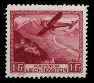 LIECHTENSTEIN 1930 Nr 113 ungebraucht 6FE04E