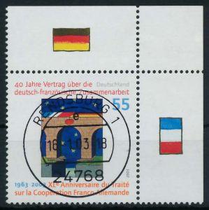 BRD 2003 Nr 2311I zentrisch gestempelt ECKE-ORE 84A66E
