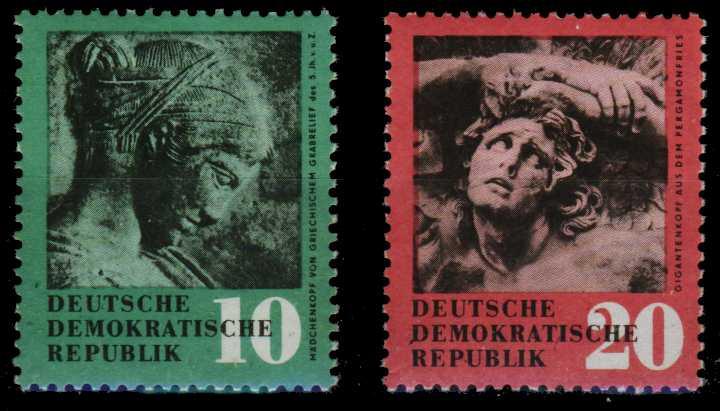 DDR 1958 Nr 667-668 postfrisch SF7F042