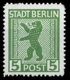 SBZ BERL. BRANDENB. Nr 1ABux postfrisch 8103AA