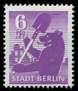 SBZ BERL. BRANDENB. Nr 2Aauy postfrisch 810392